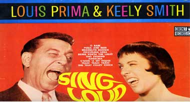 louis prima and keely smith photo