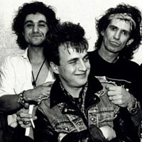 Johnny  Ferreira, Colin James, Keith Richards photo