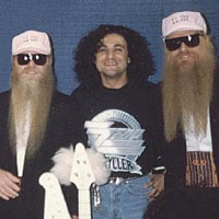 Johnny Ferreira with ZZ Top photo